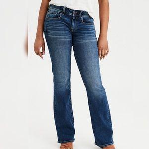 American eagle Blue Jeans super stretch size:10